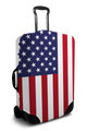 United States Flag - Luggage Cover/Suitcase Cover