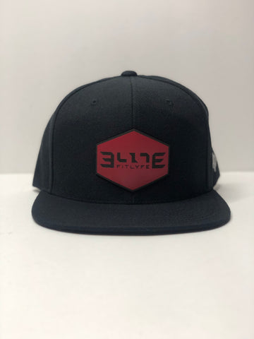 "Elite ""Branded Bills"" Flat Bill Snapback"