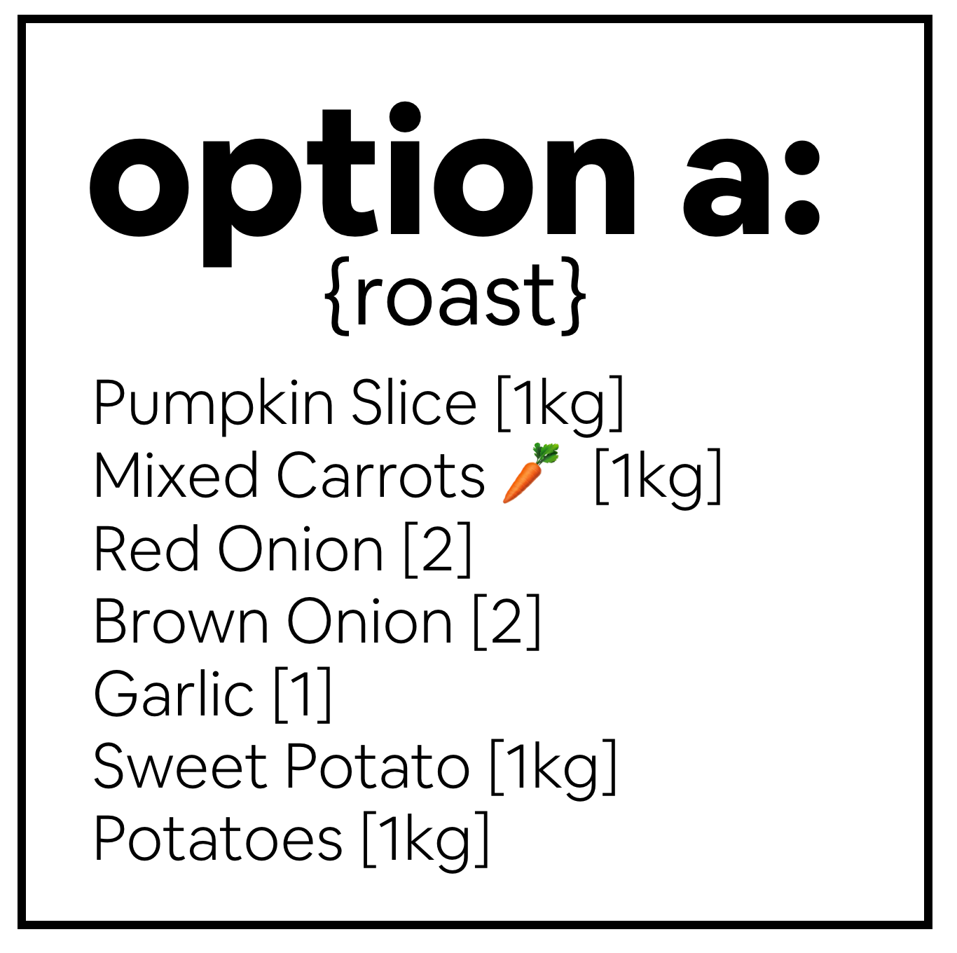 Optional Add-Ons for your box!