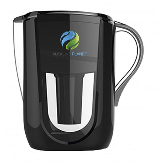 Alkaline Planet, Alkaline Water Pitcher, Black