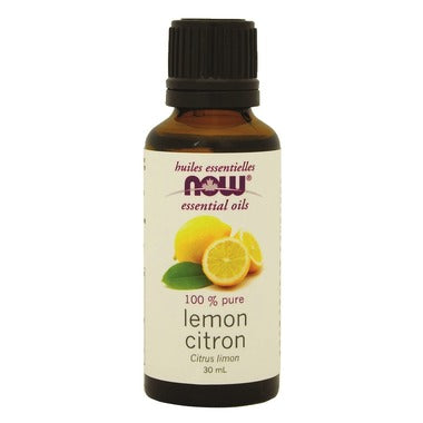 NOW Essential Oils, Lemon Oil, 30ml