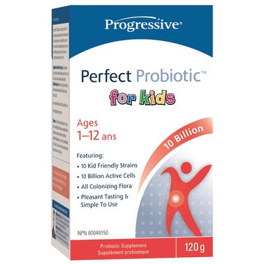 Progressive, Perfect Probiotic for Kids, 120g