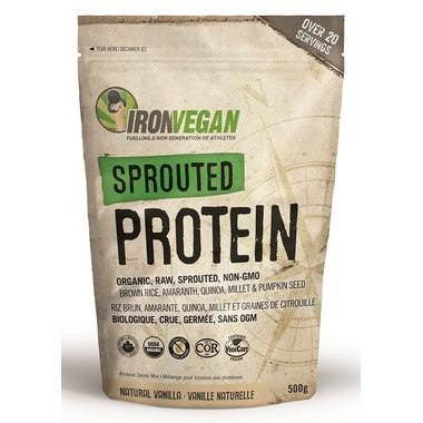 Iron Vegan, Sprouted Protein, 500 g