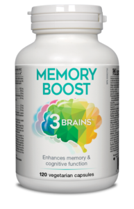 Assured Naturals, 3 Brains, Memory Boost, 120 v cap