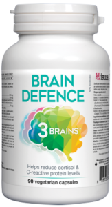 Assured Naturals, 3 Brains, Brain Defence, 90 vcap
