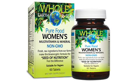 Whole Earth & Sea, Women's Multivitamin & Mineral, 60 tabs