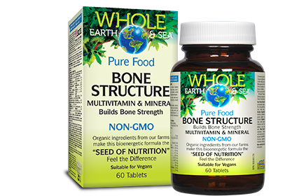 Whole Earth & Sea, Bone Structure, 60 tabs