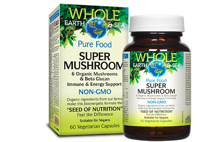 Whole Earth & Sea, Super Mushroom, 60 Vcaps