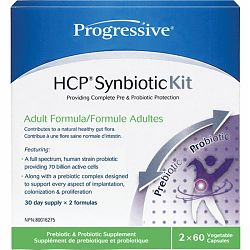 Progressive, HCP Synbiotic Kit, 60 caps