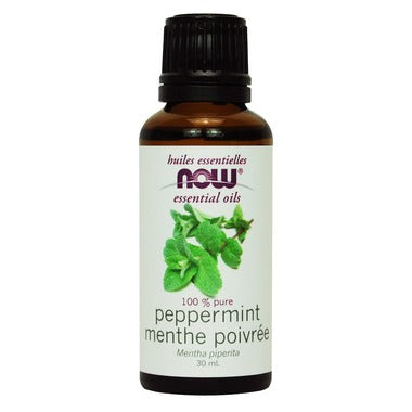 NOW Essential Oils, Peppermint Oil, 30ml