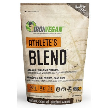 Iron Vegan, Sprouted Protein, Athlete's blend, 1 Kg