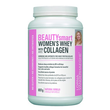 Lorna Vanderhaeghe, BEAUTYsmart, Women's Whey with Collagen, 697g