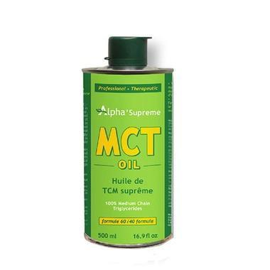 Alpha supreme MCT oil, 500 ml