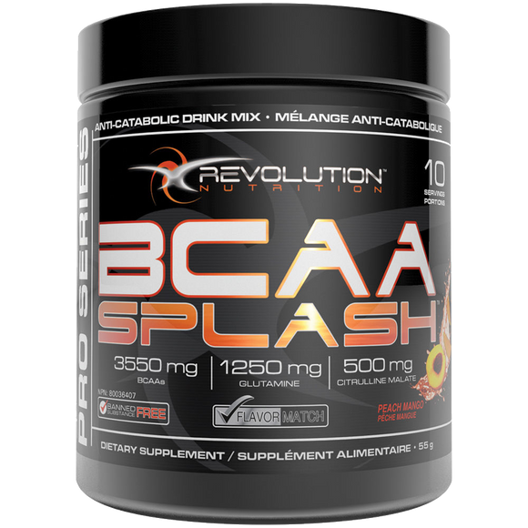 Revolution Nutrition, BCAA Splash - Peach Mango, 55 g