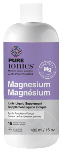 Renewal Wellness, Pure Ionics Magnesium - Apple Raspberry, 480ml