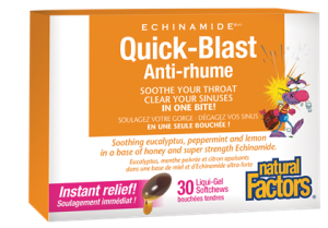 Natural Factors, Echinamide, Quick-Blast, 30 liquid sg