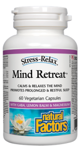 Natural Factors Stress-Relax, Mind Retreat, 60 Vcaps
