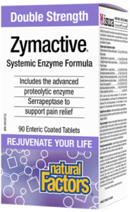 Natural Factors, Zymactive® Double Strength, 90 Enteric Coated Tablets