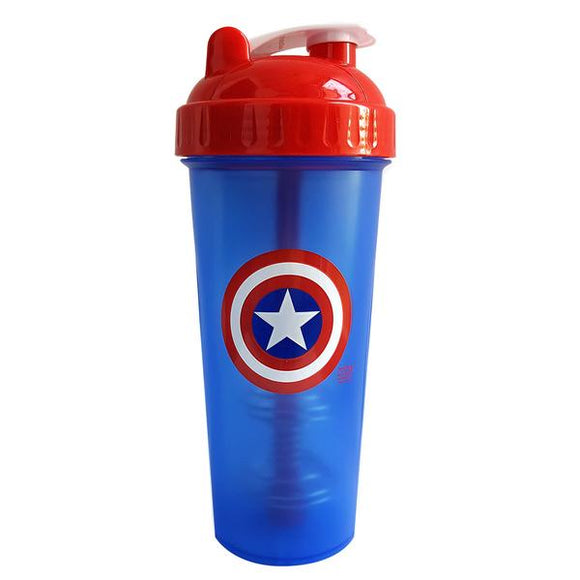 Captain America Superhero Protein Shaker Bottle