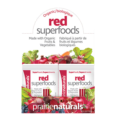 Copy of Prairie Naturals, Organic Red Superfoods, Single, 7g