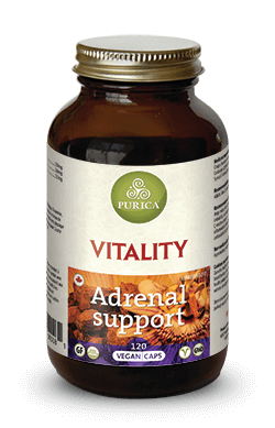 Purica, Vitality Adrenal Support, 120 Vcaps