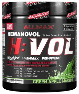 Allmax, H Vol, 285 grams