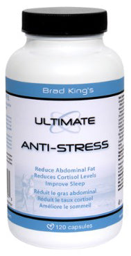 Brad Kings, Ultimate, Anti-Stress, 120vcap