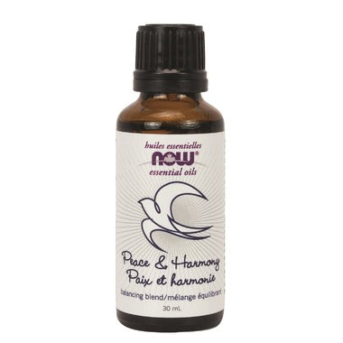 NOW Essential Oils Peace & Harmony Blend, 30ml