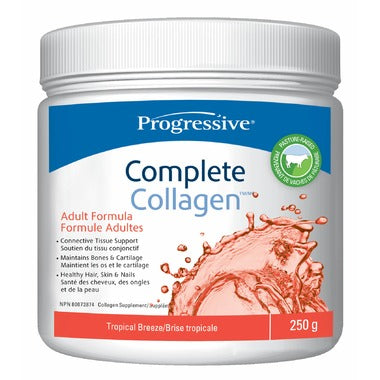 Progressive Complete Collagen, Tropical Breeze, 250g