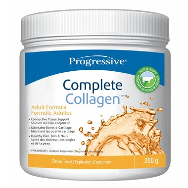 Progressive, Complete Collagen, Citrus Twist, 250g