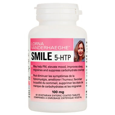 Lorna Vanderhaeghe, SMILE 5-HTP, 100 mg, 120 Enteric coated Vcaps