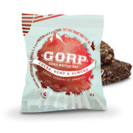 GORP, Gorp Bar, Cocoa Hemp Almond, 65 g