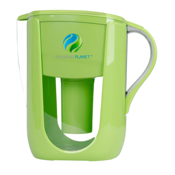 Alkaline Planet, Alkaline Water Pitcher, Green