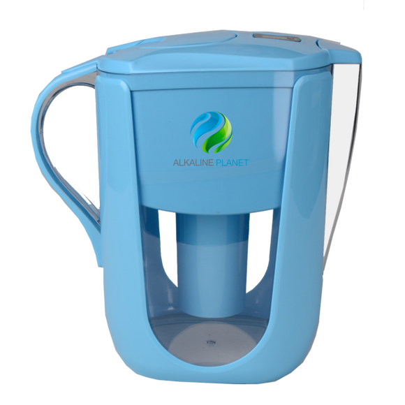 Alkaline Planet, Alkaline Water Pitcher, Blue
