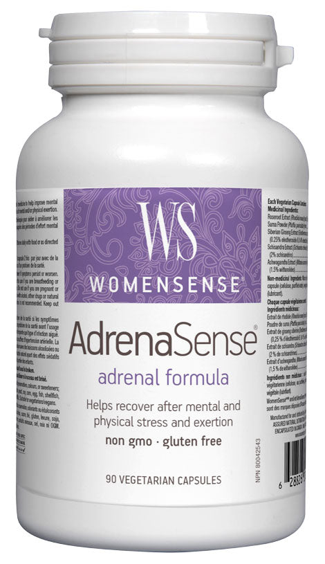 Assured Naturals, Womensense, AdrenaSense, 180 v cap