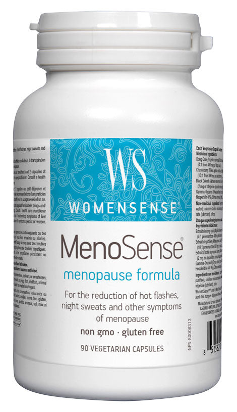 Assured Naturals, WomenSense, MenoSense, 180 v cap