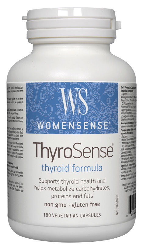 Assured Naturals, Womensense, ThyroSense, 180 V cap