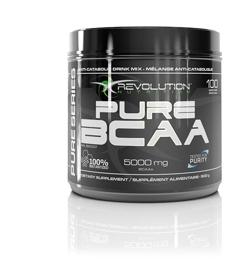 Revolution Nutrition, Pure BCAA, 500 g