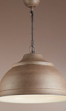 Brasserie Overhead Large Pendant - Rust, White, or Black