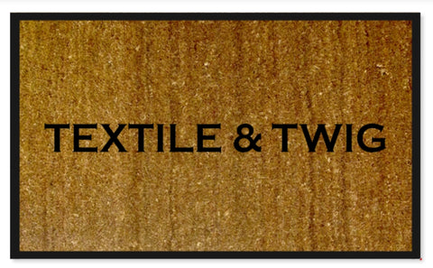 Personalised Doormat - Extra Large size 120 x 80cm