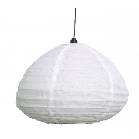 Nendo Pendant 100% Linen - Medium