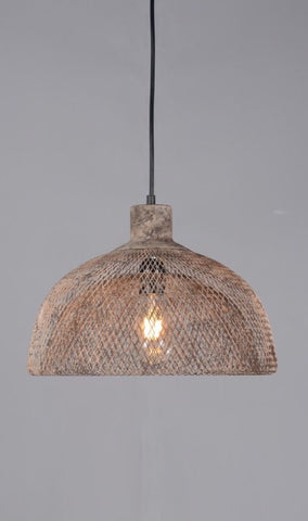 Valentino Rustic Hanging Lamp - two sizes