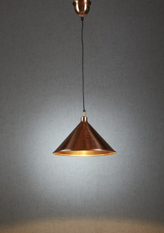 Riverway Hanging Lamp - Copper