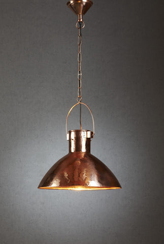 Nelson Hanging Lamp - Copper