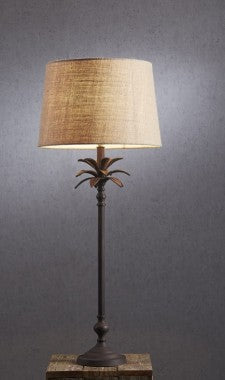 Casablanca Palm Tree Table Lamp Base - Bronze
