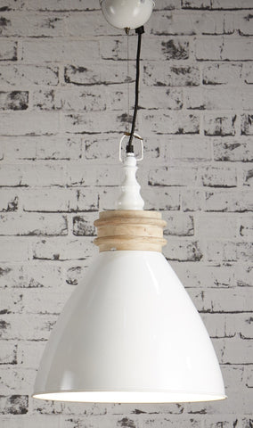 Sardinia Hanging Lamp - Off White or Black