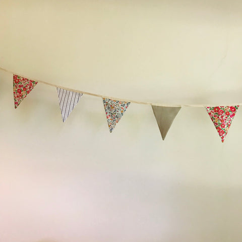 Bunting (by the Metre) - customised by your fabric choice
