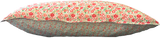 Liberty Pillowslip, Reversible - Danjo A (red & green) + Eloise B (aqua)