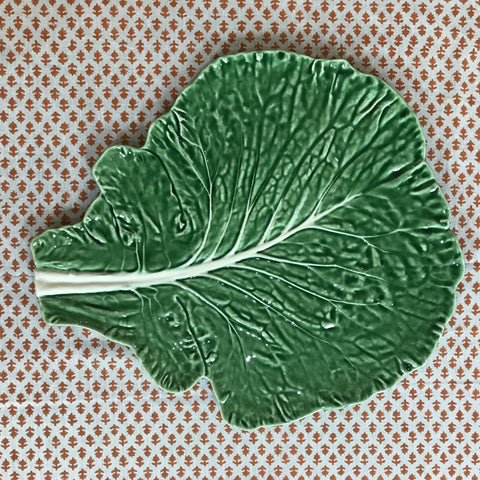 Cabbage Ware - Leaf Shaped Cheese Platter