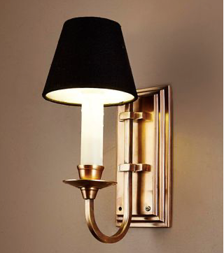 East Borne Sconce Base - Antique Brass